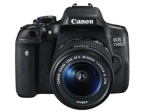 Die Canon EOS 750D