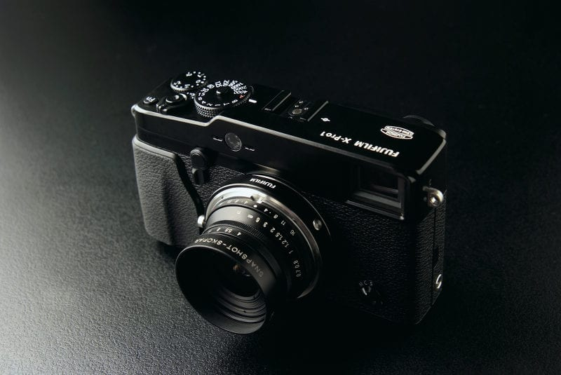 Fuji X-Pro1 with M Mount and SKOPAR lens
