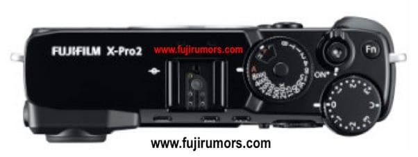 Fuji X-Pro2 Oberseite