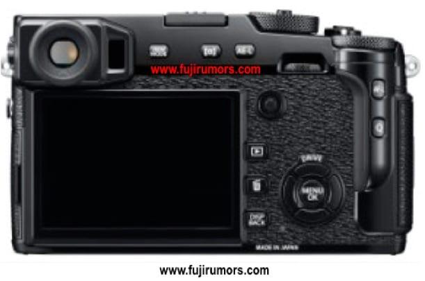Fuji X-Pro2 Rückseite