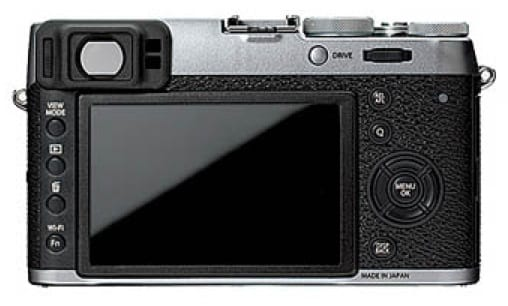 Fuji X100T Leak Rückseite