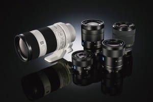 Neue FE-Objektive Sony