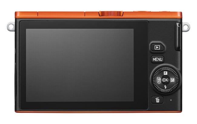 Nikon 1 J4 Rückseite