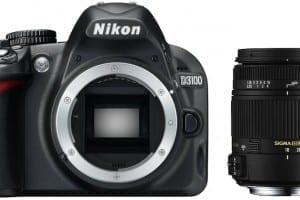 Nikon D3100 Sigma