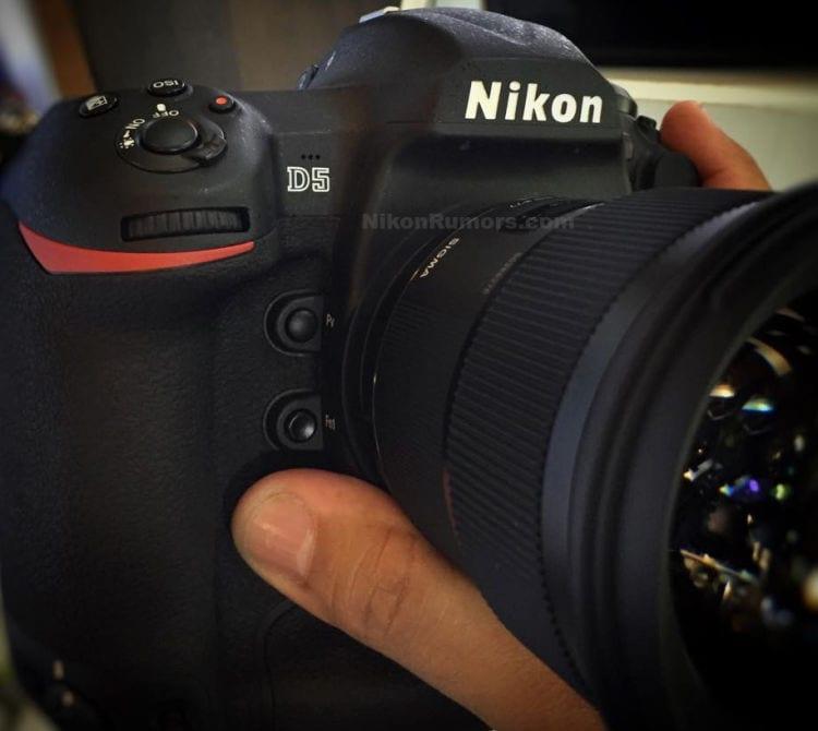 Erstes Bild der Nikon D5