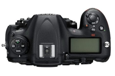 Nikon D500 Oberseite