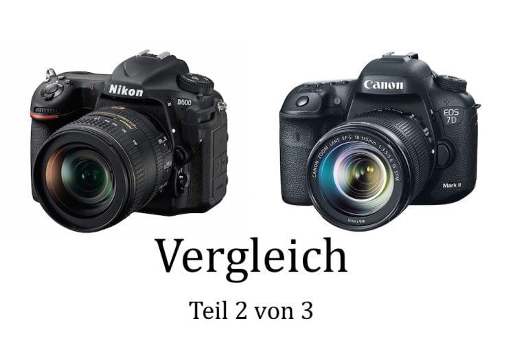 Nikon D500 vs Canon 7D Mark II 2