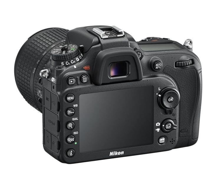 Nikon D7200 Rückseite