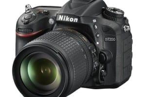 Nikon D7200 Vorderseite