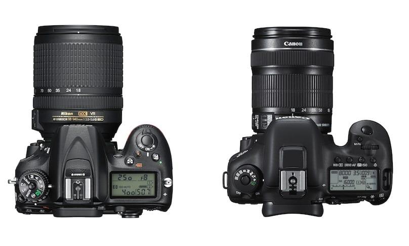 Nikon D7200 vs 7D Mark II Vergleich 2