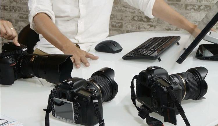 Nikon D810 5D Mark III Vergleich