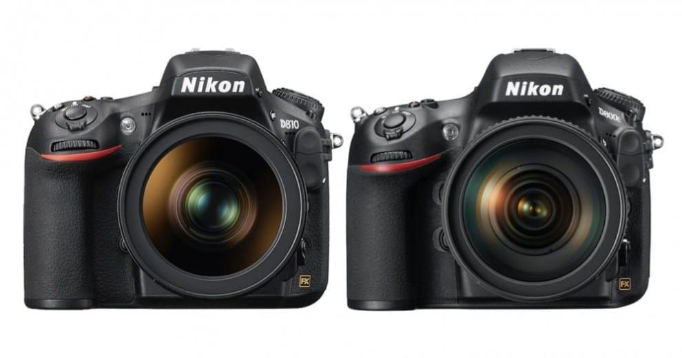 Nikon D810 D800E Vergleich