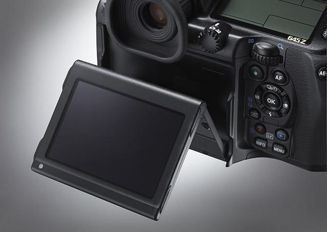 Pentax 645Z Display1