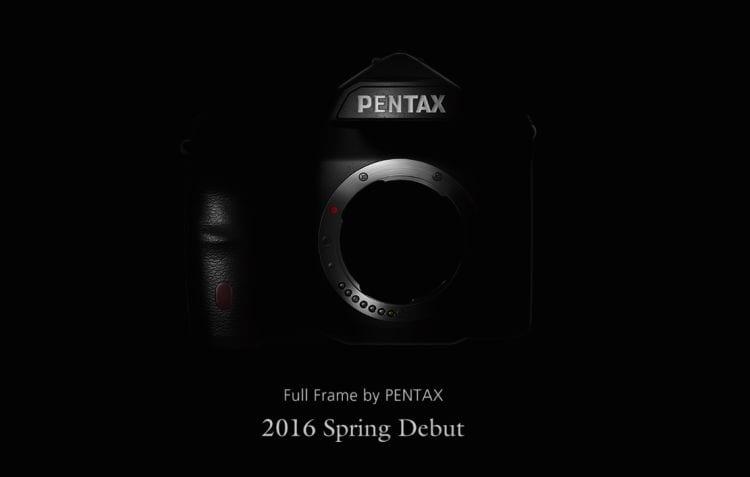 Pentax Vollformatkamera Teaser