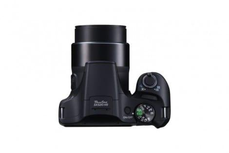 PowerShot SX520 HS TOP Camera On