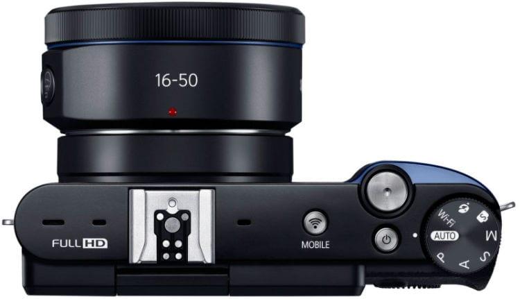 Samsung-NX3300-mirrorless-camera-top