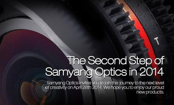 Samyang Teaser 28. April