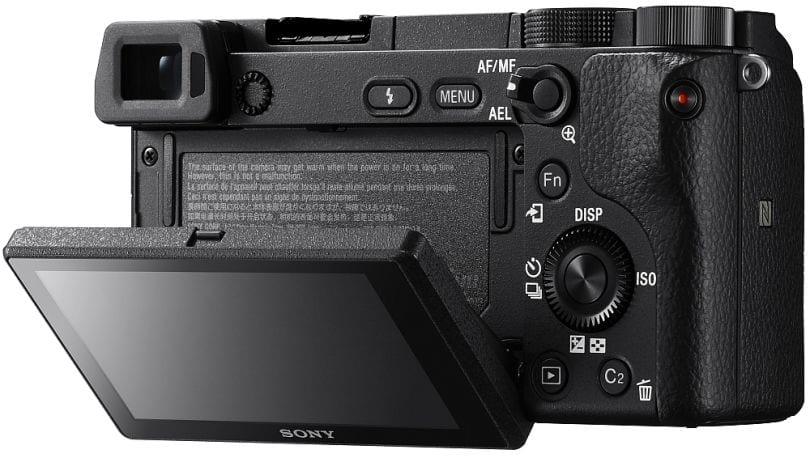 Sony A6300 Rückseite