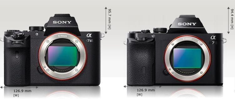 Sony A7 II A7 vorne