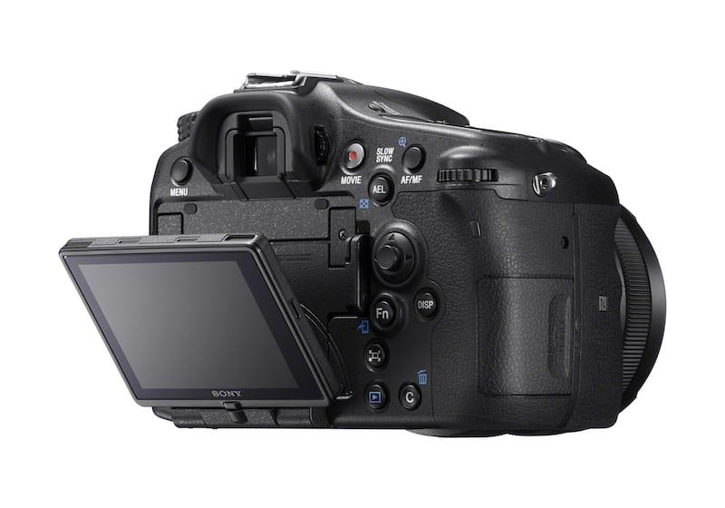 Sony A77 II Rückseite