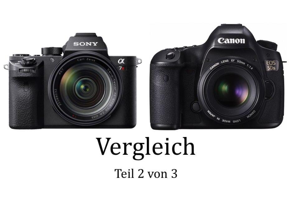 Sony A7r II vs. Canon EOS 5DS Vergleich 2