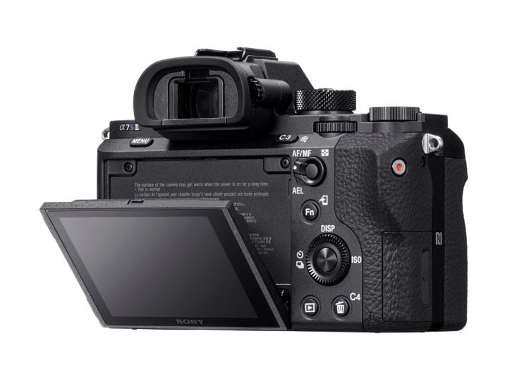 Sony A7s II klappbares Display