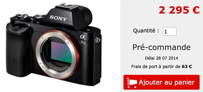 Sony A7s Preis