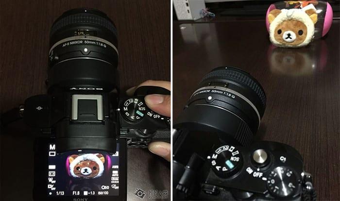 Sony E-Mount Nikon F Adapter