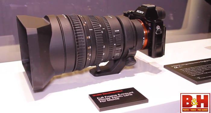 Sony FE 28-135mm Objektiv