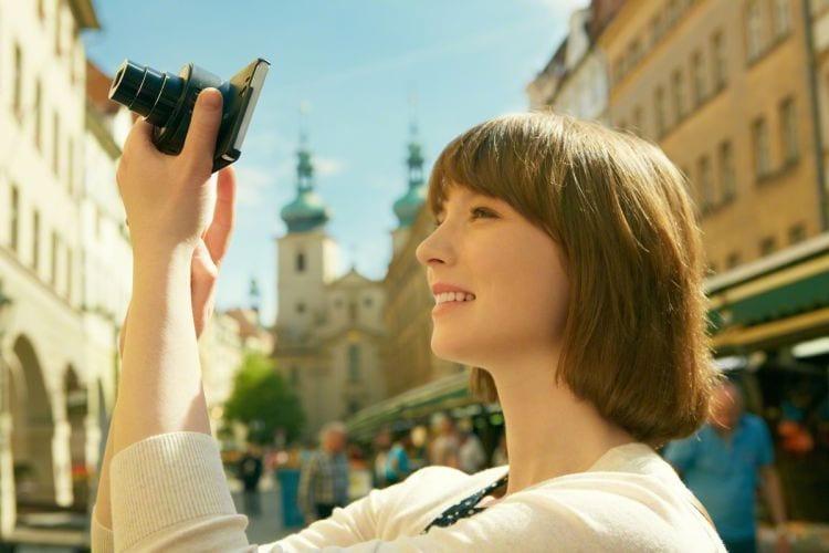 Sony QX10 Smartphone-Kamera