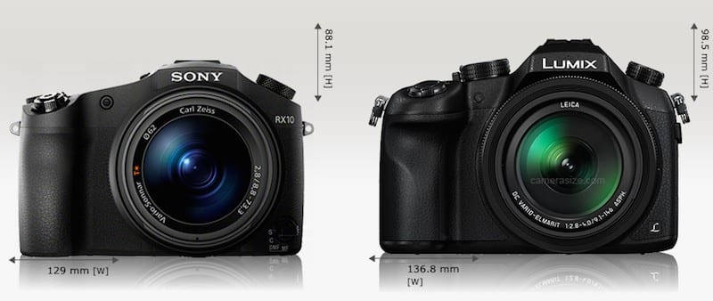 Sony RX10 vs Panasonic FZ1000 1