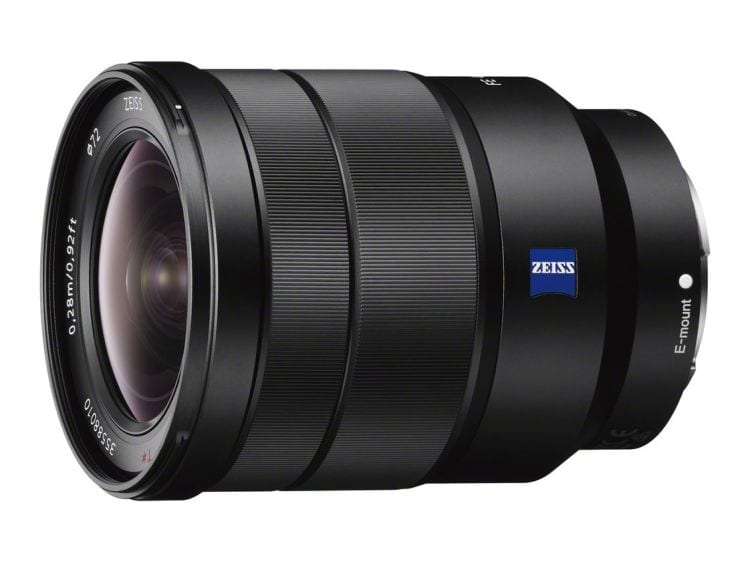 Sony Zeiss Objektiv