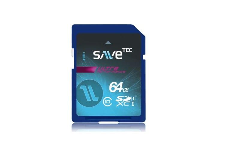 Speicherkarte SaveTec