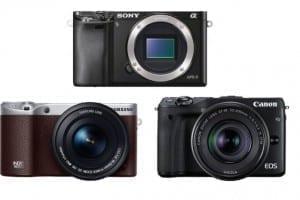 Vergleich Canon EOS M3
